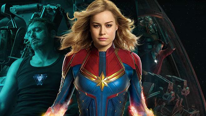 avengers endgame captain marvel