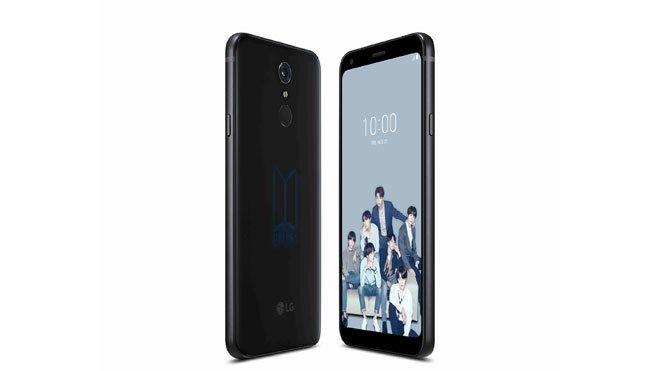 LG Q7+ BTS Limited Edition