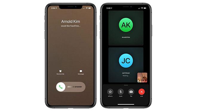 Apple FaceTime açığı