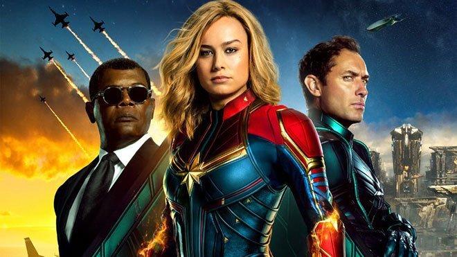 Captain Marvel yeni tanıtım