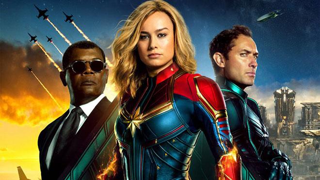 Captain Marvel ek sahne