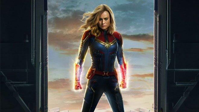 Avengers Endgame öncesi Iron Man Thor ve Captain America buluşturan Captain Marvel fragmanı