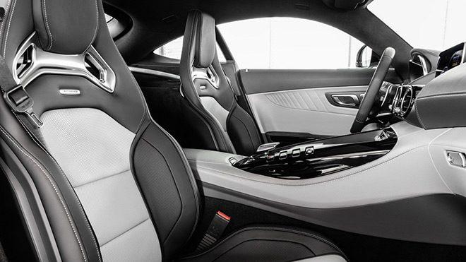 Mercedes-AMG GT interior 1