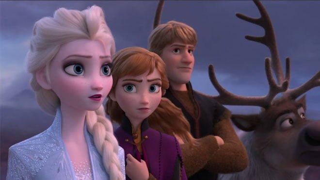 Frozen 2 ilk fragman