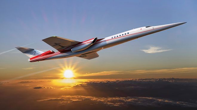 Boeing AS2 Aerion Corporation süpersonik iş jeti