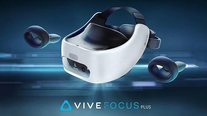 HTC Vive Focus Plus sanal gerçeklik başlığı