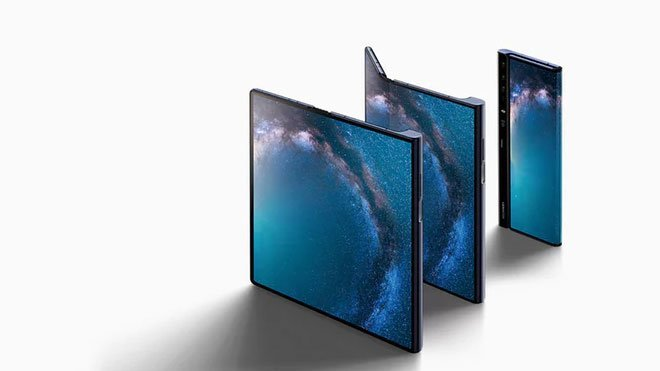 Foldable set to the Samsung Galaxy folding phone Huawei Mate X