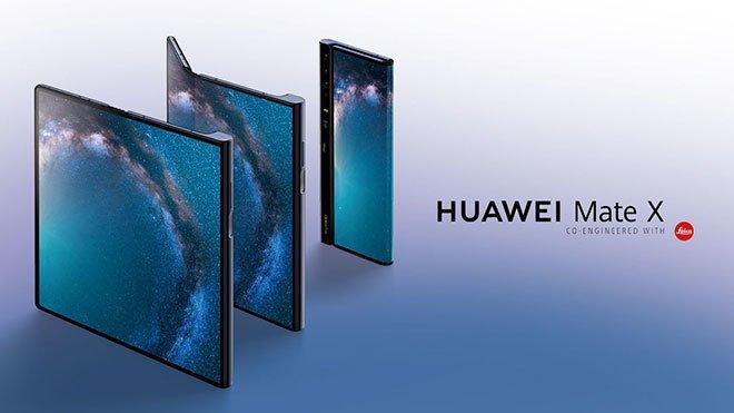 Katlanabilir telefon Huawei Mate X katlanabilir akıllı telefon Mate X