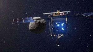 Japon uzay aracı hayabusa 2 ryugu
