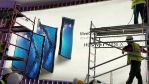 Huawei Mate X katlanabilir akıllı telefon