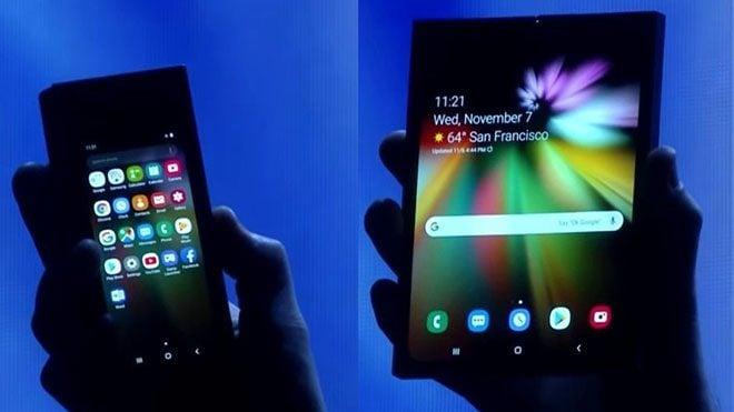 Katlanabilir akıllı telefon Samsung Galaxy Fold için heyecanlandıran açıklama [Video]