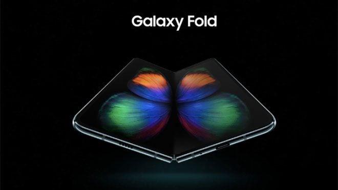 Samsung Galaxy Fold katlanabilir akıllı telefon