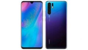 Huawei P30 katlanabilir telefon Huawei Mate X P30