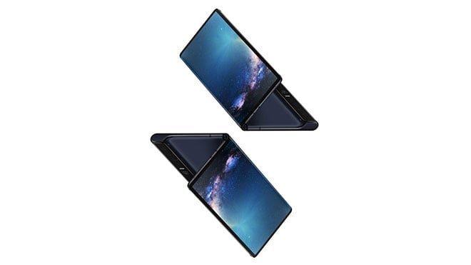 Katlanabilir telefon Samsung Galaxy Fold ve Katlanabilir telefon Huawei Mate X