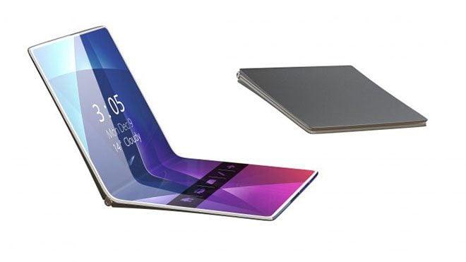 katlanabilir akıllı telefon LG