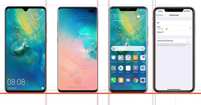 Mate 20, Galaxy S10+, Mate 20 Pro ve iPhone Xs Max yan yana; sizin tercihiniz hangisi?
