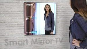 Samsung akıllı ayna tv akıllı televizyon akıllı ayna