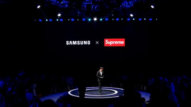 Samsung ve çakma Supreme anlaşması