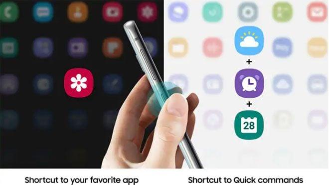Samsung Galaxy Bixby butonu