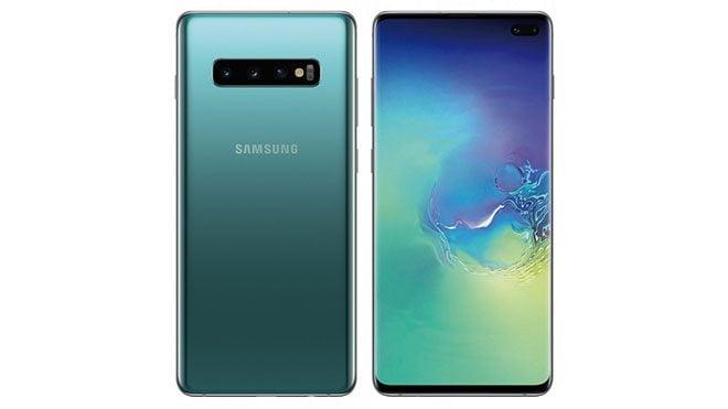 Samsung Galaxy S10+ ve Samsung Galaxy S10