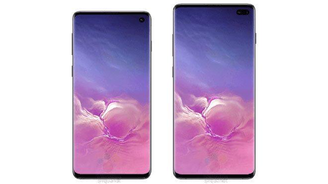 Samsung Galaxy S10+ ve Galaxy S10
