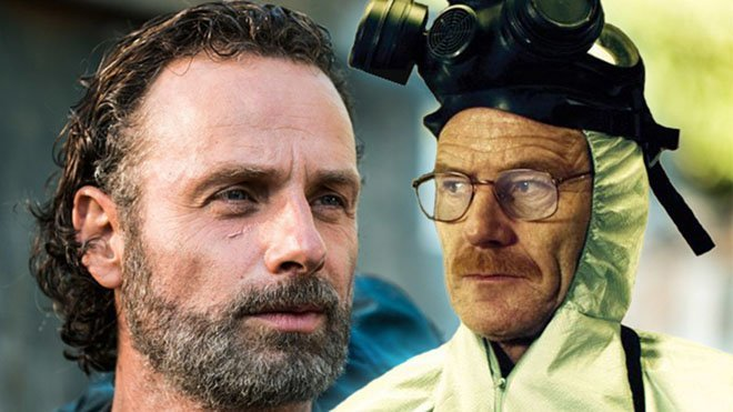 The Walking Dead Breaking Bad
