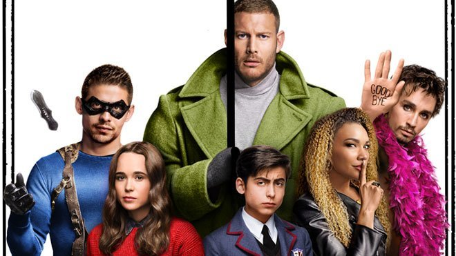 Yeni Netflix dizisi the umbrella academy