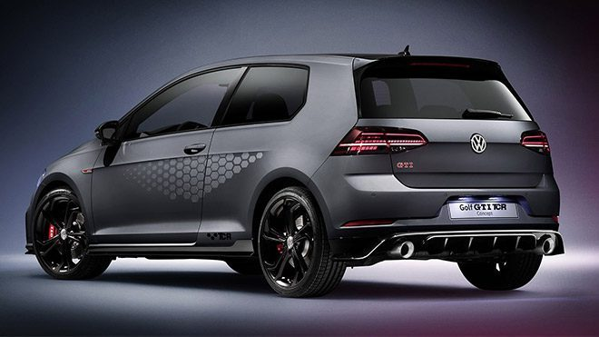 Volkswagen Golf GTI back