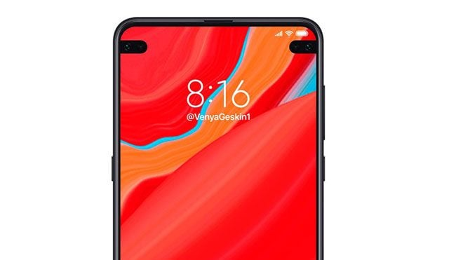 Xiaomi'nin ekrana entegre çift kameralı telefonları nasıl görünecek?