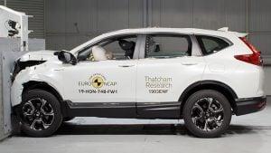 Yeni Honda CR-V EuroNCAP