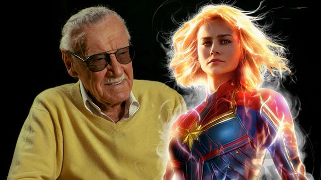 Stan Lee Captain Marvel