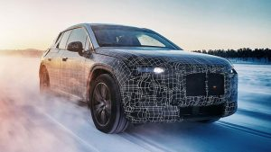 BMW elektrikli otomobil i4 iNext iX3