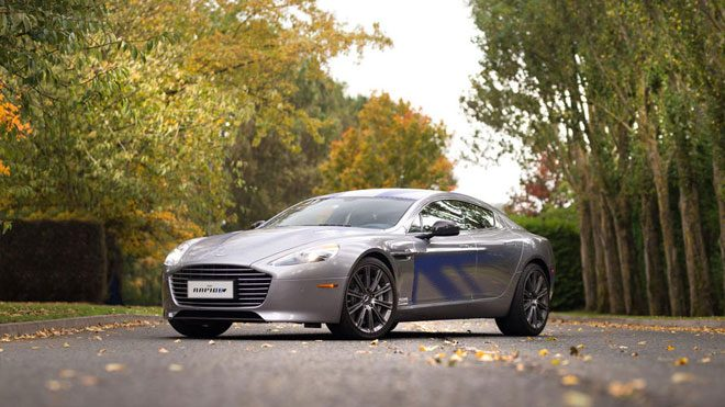 Aston Martin Rapide E James Bond
