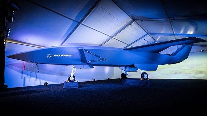 Boeing insansız savaş uçağı