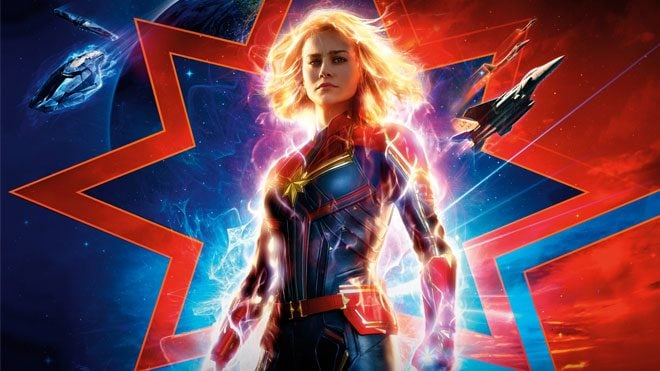 Avengers Endgame öncesi yayınlanan Captain Marvel incelemesi