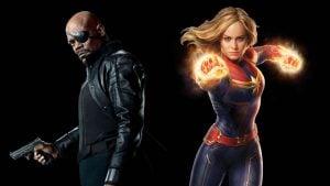Avengers Endgame öncesi açıklanan Avengers: Infinity War Captain Marvel sahnesi