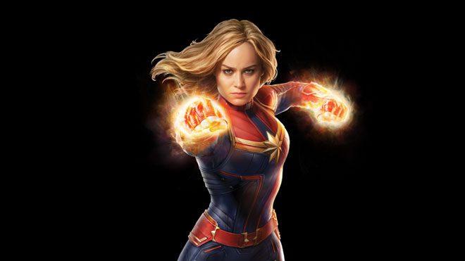 Netflix'in Captain Marvel yıldızı Brie Larson'a özel paylaşımı