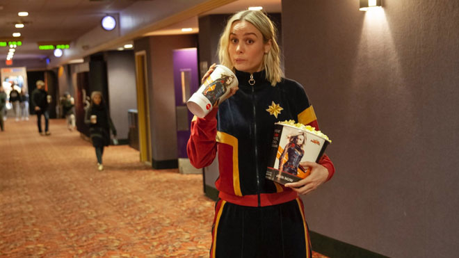 Captain Marvel Brie Larson YouTube düzenlemesi