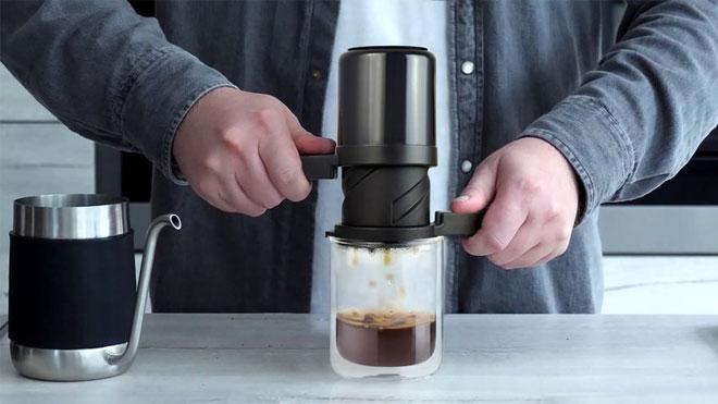 The Twist Press filtre kahve cihazı