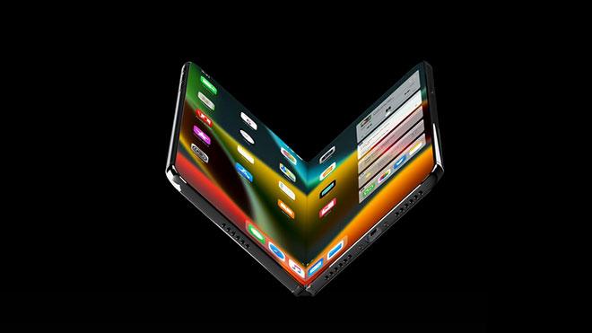 Galaxy Fold'dan ilham alan katlanabilir iPhone X Fold konsepti [Video]