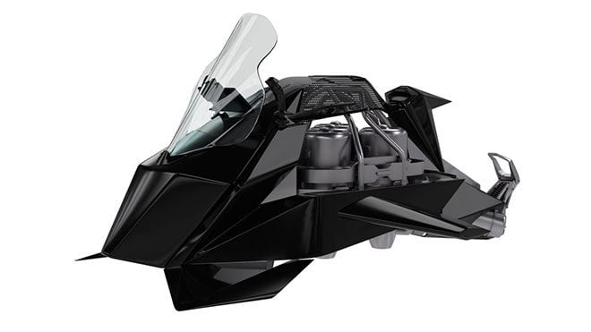 The Speeder: Jetpack Aviation uçan motosiklet