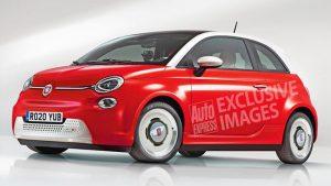 Tamamen elektrikli Fiat 500 EV