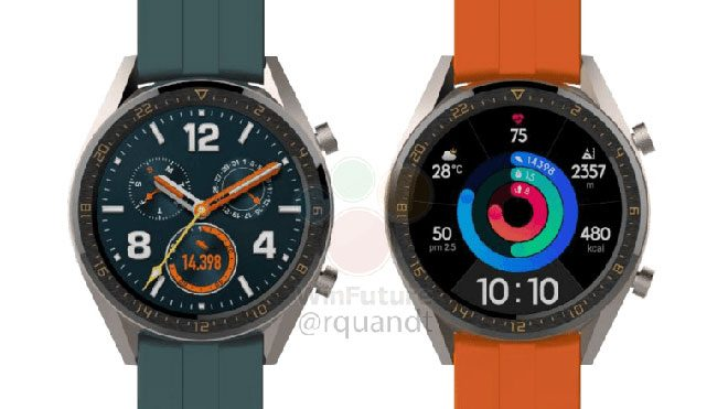 Huawei Watch GT Active ve Huawei Watch GT Elegant