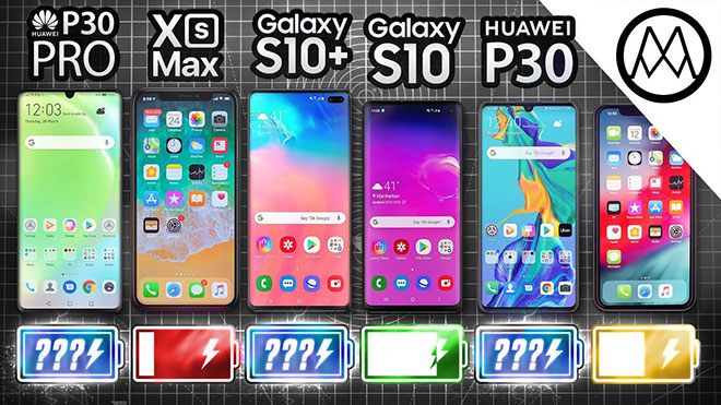 Huawei P30 Pro vs iPhone XS Max / Samsung Galaxy S10+