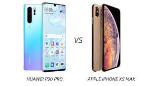 Huawei P30 Pro ve Apple iPhone Xs Max