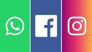 Facebook Instagram WhatsApp