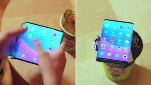 Xiaomi Mi Fold katlanabilir telefon