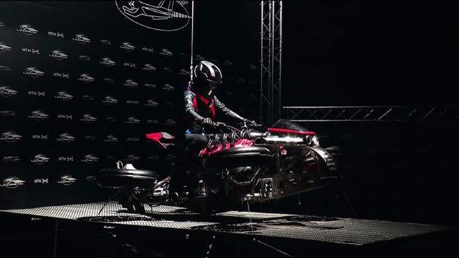 Lazareth uçan motosiklet