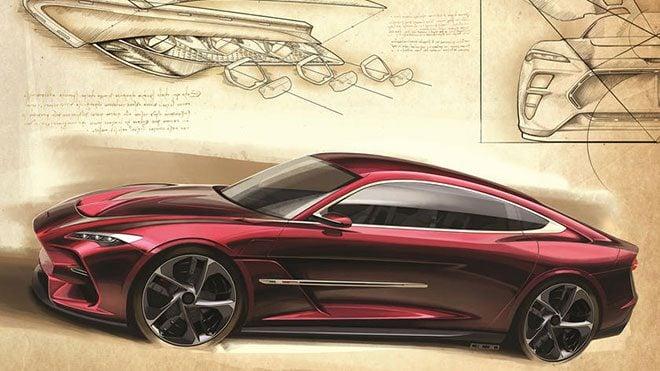 Leonardo DaVinci anısına hazırlanan Italdesign DaVinci Concept.