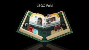 katlanabilir telefon Samsung Galaxy Fold a benzetilen LEGO fold
